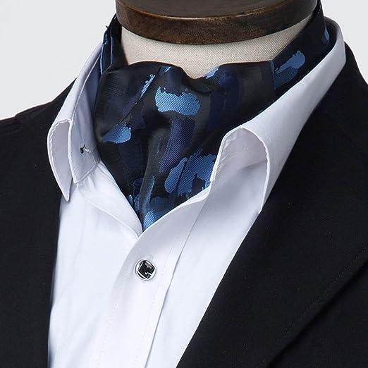 CHAOXIAN Seda Corbata Bufanda Camuflaje Pintada Moda Camisa Collar ...