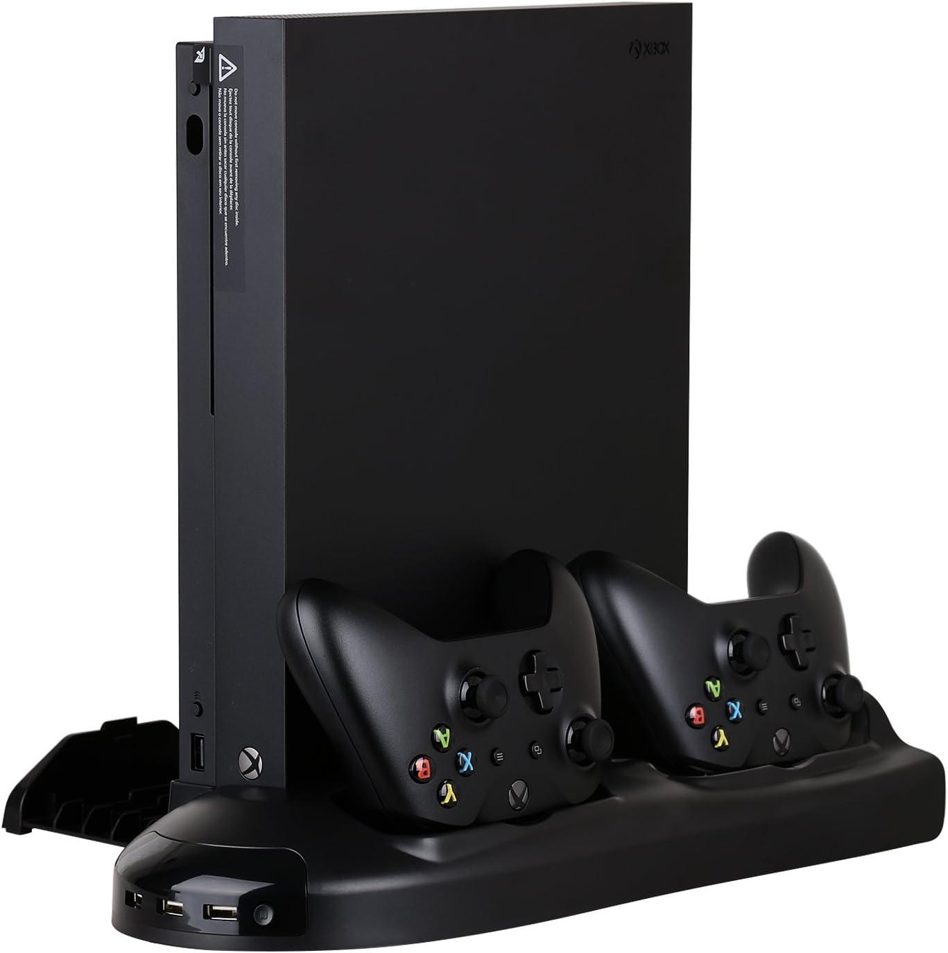 HEYSTOP Xbox One x soporte vertical ventilador de refrigeración ...