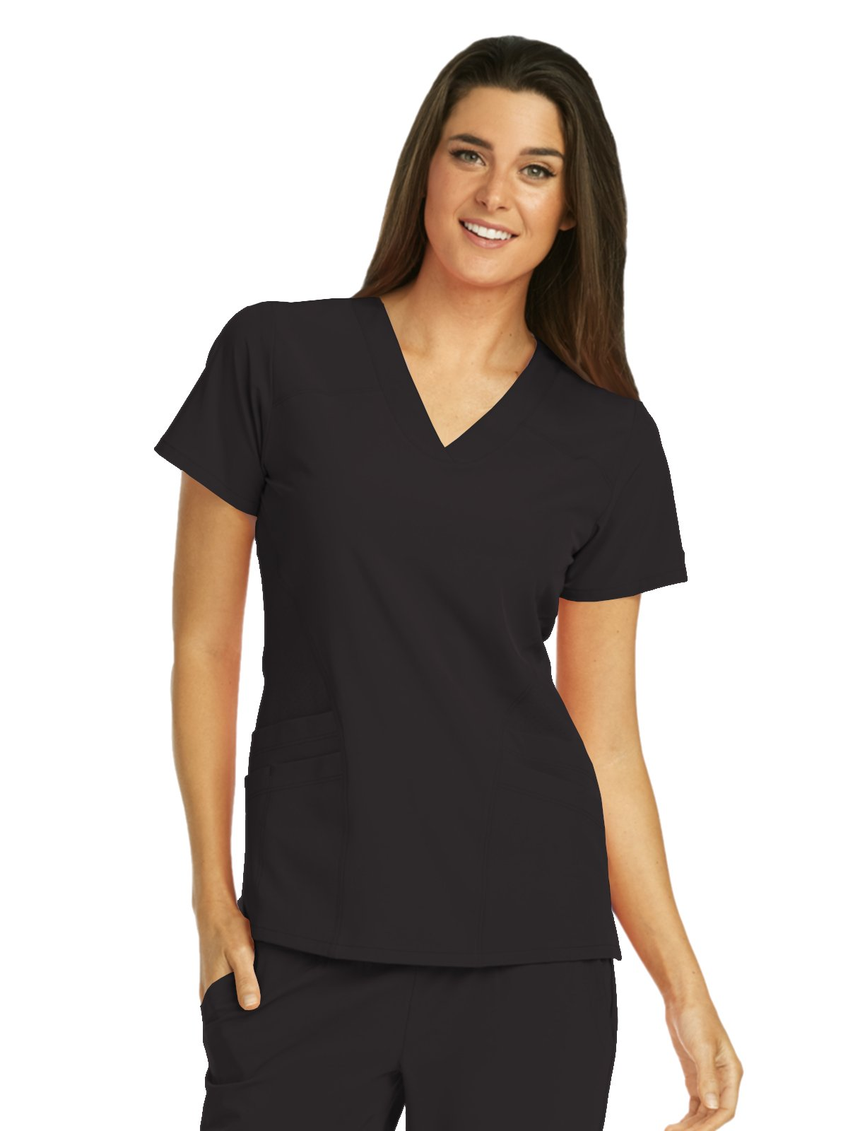 Barco One 5106 V-Neck Top Black S