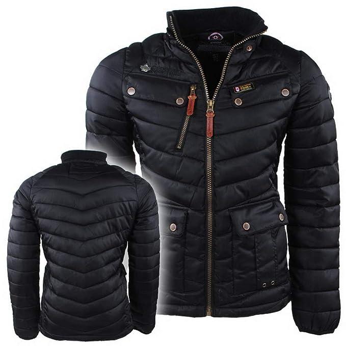 huge selection of 0ef31 f223b Canadian Peak - Giacca - Uomo Nero M: Amazon.it: Abbigliamento