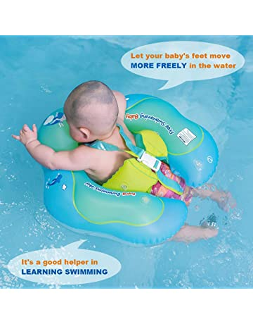Free Swimming Baby Inflatable Baby Swimming Float Ring Children Waist Float  Ring Inflatable Floats Pool Toys dfdde09718