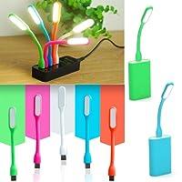 RVold Kids Favourite Portable Flexible USB LED Light Lamp Gift for Birthday (Multicolour) - Pack of 12