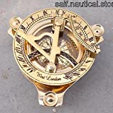 Nautical London Sundial Compass Marine Working