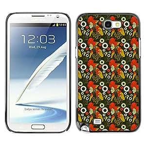 ZECASE Funda Carcasa Tapa Case Cover Para Samsung Galaxy S4 Mini I9190 No.0004236
