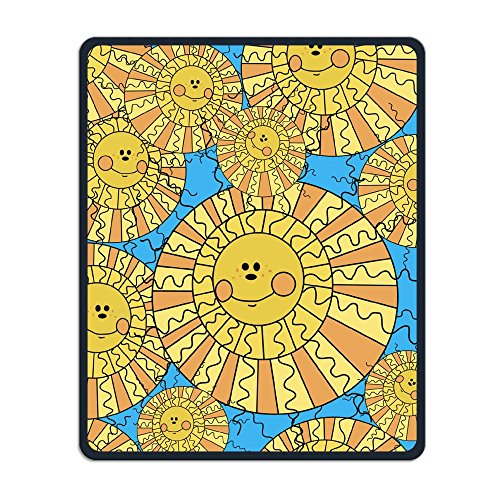 Unyiqun Cute Sun Creative Custom Fashion Mouse Pad