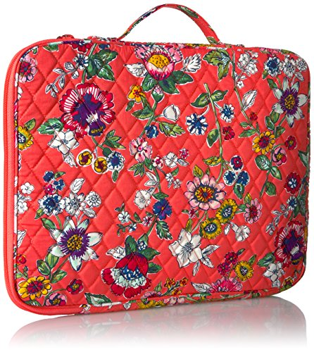 Laptop Organizer - Signature Messenger Bag Bag, Coral Floral, One Size by Vera Bradley (Image #2)