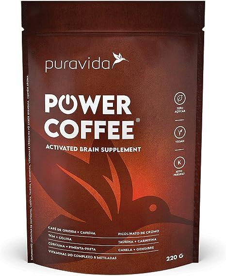 Power Coffee Puravida Tcm Coco Cream Curcuma 220gr Gianduia