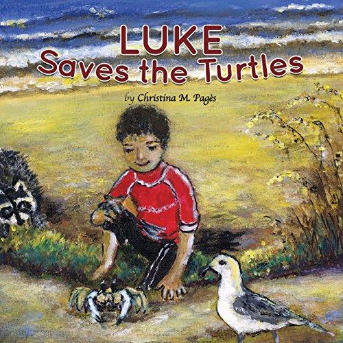 Luke Saves the Turtles Childrens book
