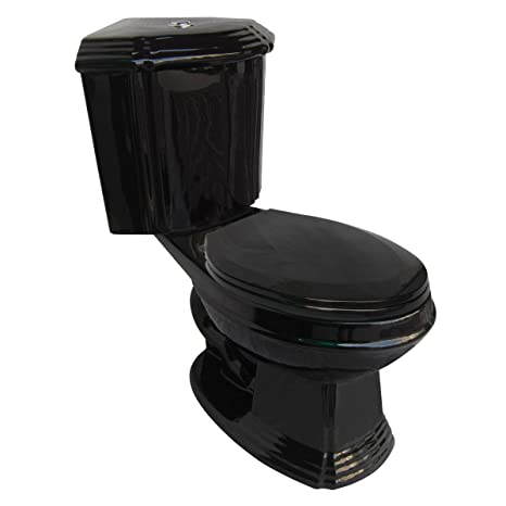 Astounding Black Corner Toilet Ceramic Elongated Space Saving Bathroom Toilet Grade A Porcelain Space Saving Design Includes Slow Close Toilet Seat Beatyapartments Chair Design Images Beatyapartmentscom