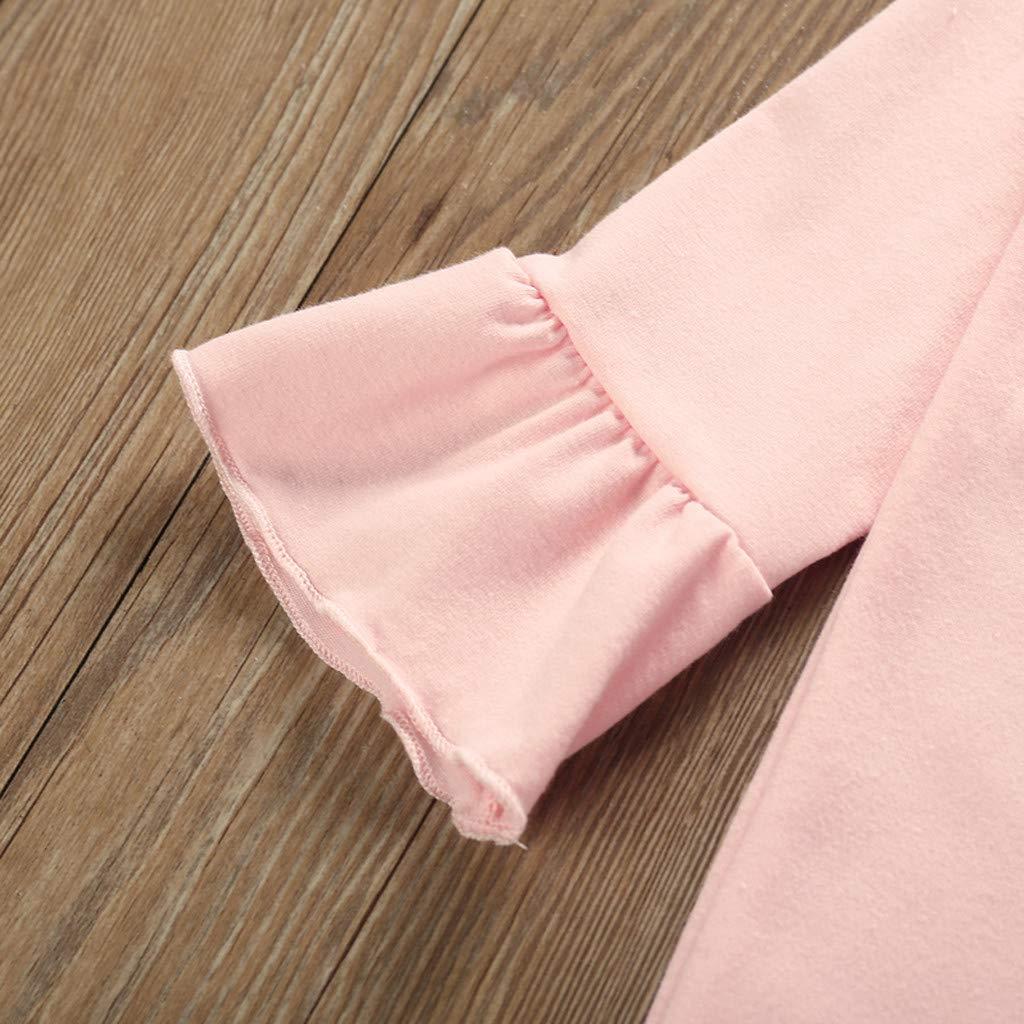 Divertido Pijama,K-Youth Pelele Bebe Ni/ño Invierno Floral Bodies Bebe Manga Larga Mameluco Bebe Ni/ña Recien Nacido Body Beb/é Mono para Ni/ños Peleles de Beb/és Ni/ñas Diadema Infantil
