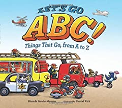 The alphabet comes to zooming, vrooming life with vehicles for every letter, A to Z! A big, boxy bus drives up for letter B, a kayak floats by for letter K, and a rocket blasts off for letter R. A fun and thrilling range of planes, tra...