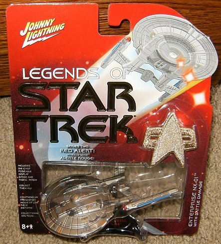 Legends of Star Trek Enterprise NX-01 with Battle Damage Series Two
