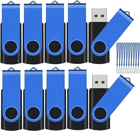Tewene 8gb Usb Flash Speicher 10 Stück 10er Pack Usb Computer Zubehör