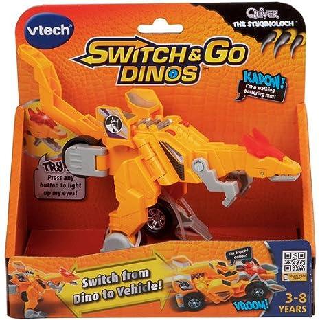 Amazon.com: VTech Quiver la Stygimoloch Switch & Go Dino : Baby