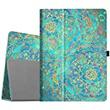 Fintie iPad Pro 12.9 Case - [Corner Protection] Premium PU Leather Folio Smart Stand Cover with Auto Sleep/Wake, Multi-Angle Viewing for iPad Pro 12.9 2nd Gen 2017/1st Gen 2015, Shades of Blue