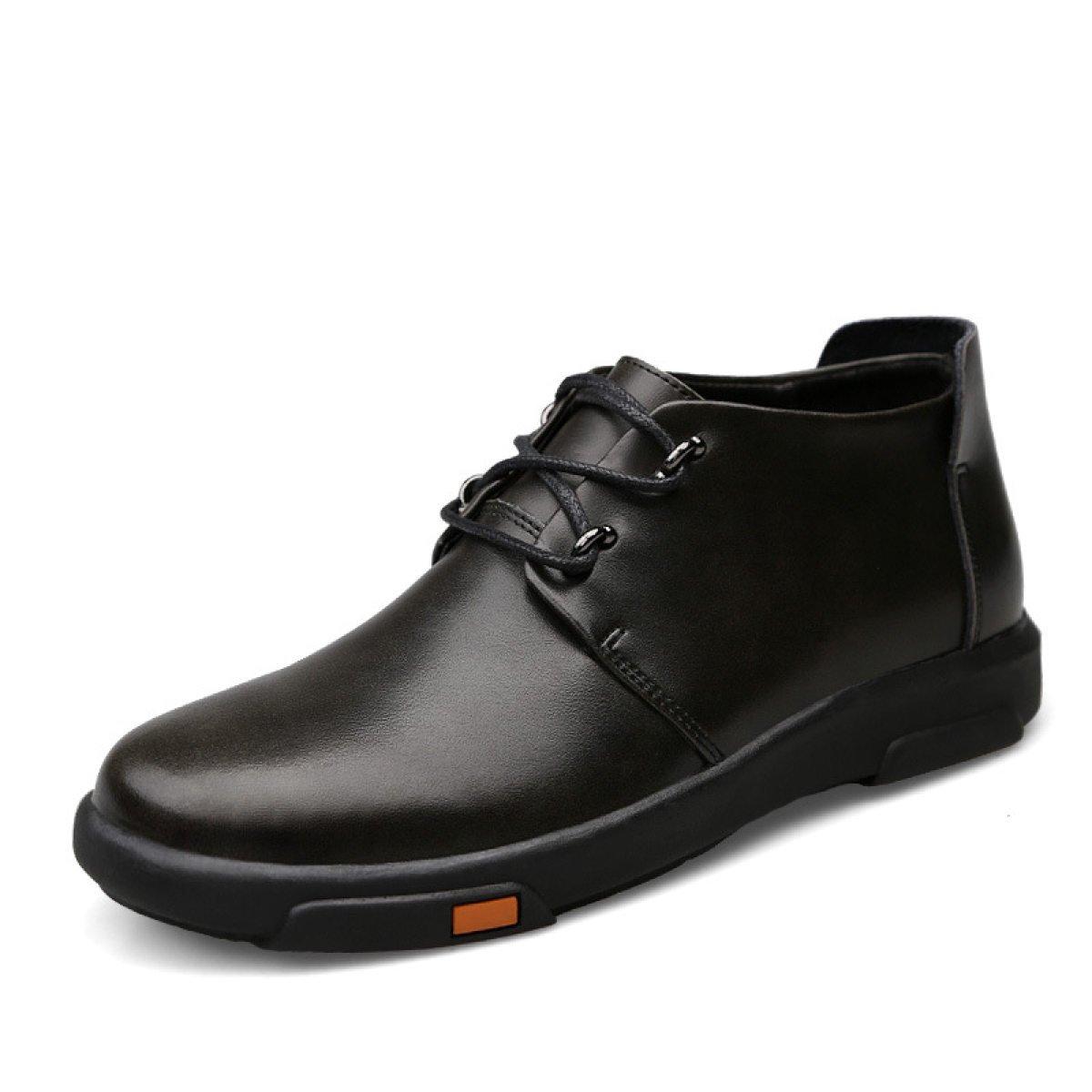 GTYMFH Herbst Hoch Zu Helfen Herrenschuhe Koreanische Version Mode Schuhe England Lässige Stiefel