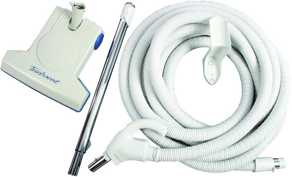 Cen-Tec Systems 94027 TurboCat Air Turbine Tool with 35 Ft. Hose for Central Vacuums, Gray
