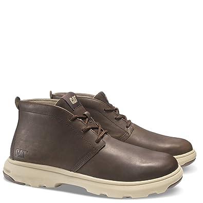 Amazon.com | Caterpillar Men\'s Stun Chukka Casual Boots, Brown ...