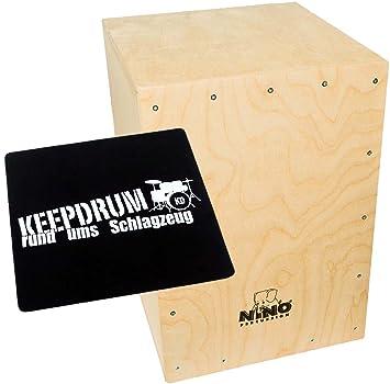 Meinl NINO951-MYO cajón montar para niños + Keepdrum y cojín ...