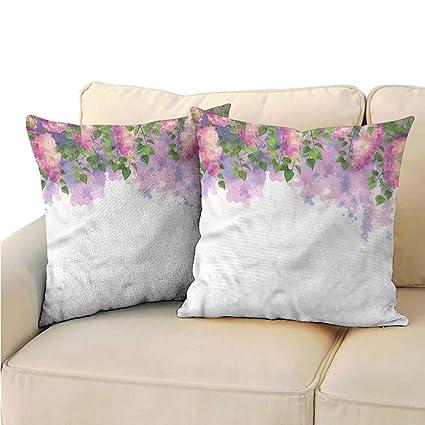 Amazon Com Ediyuneth Pillowcases Bulk Mauve Weeping Flowers