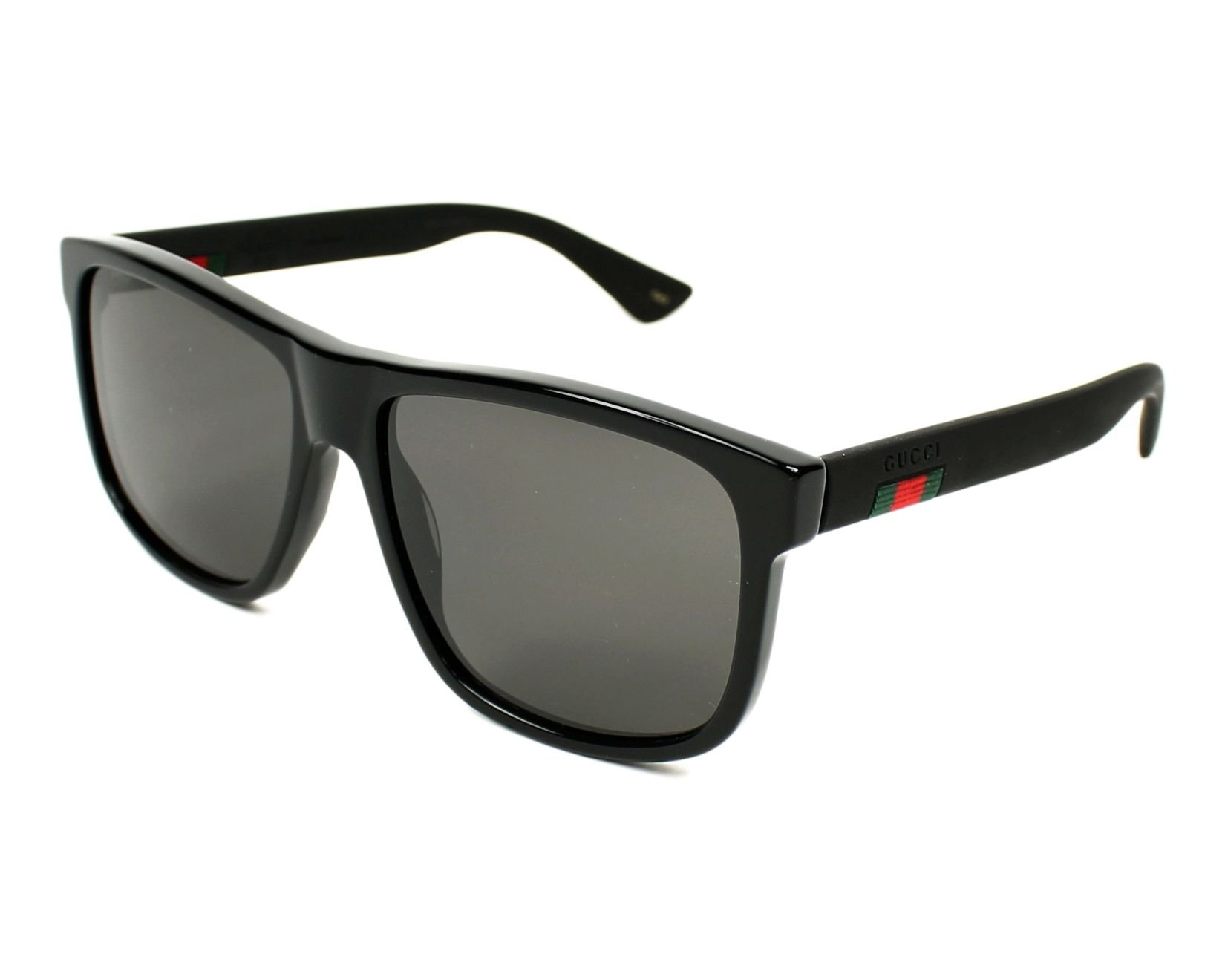 Gucci GG 0010 S- 001 BLACK/GREY Sunglasses