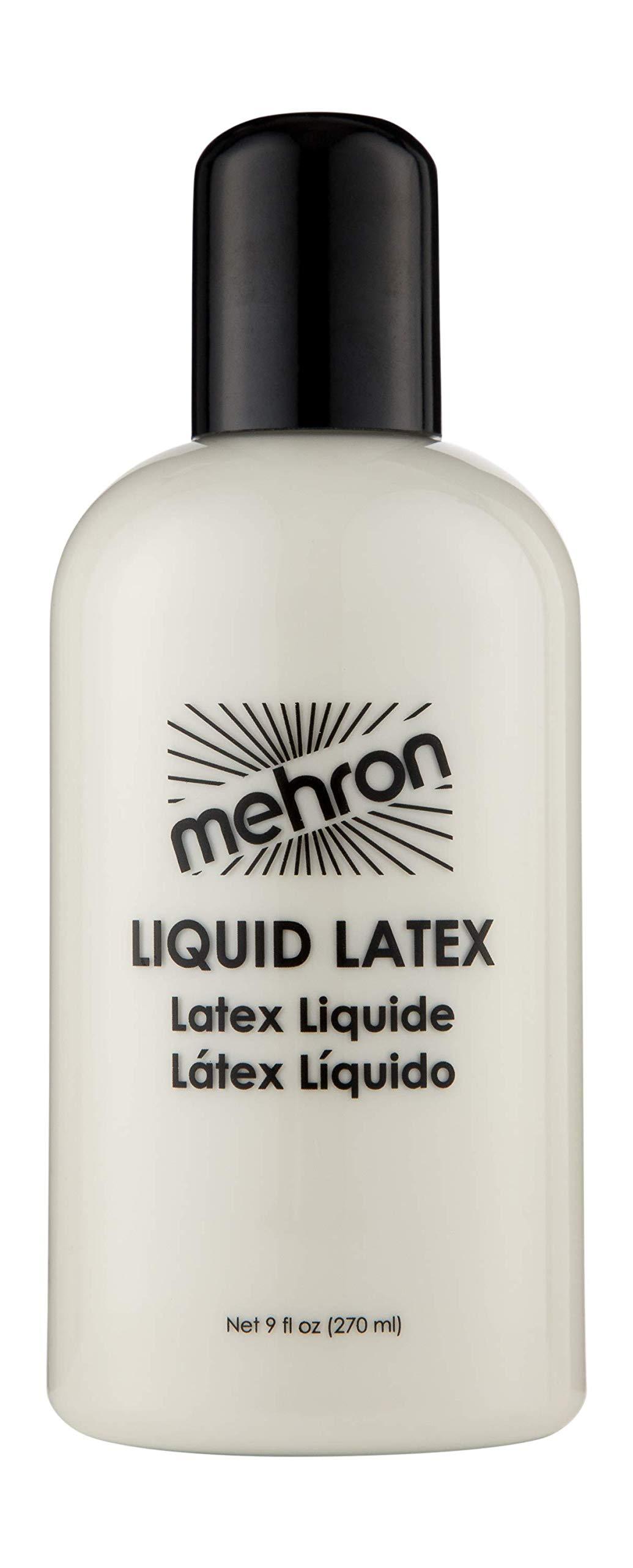 Mehron Makeup Liquid Latex (9 oz) (Clear Flesh) by Mehron