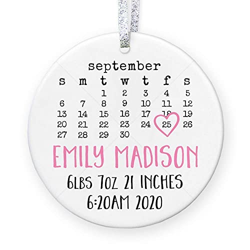 Christmas Stats 2020 Amazon.com: Personalized Birth Stats for Baby Girl, Birth Details