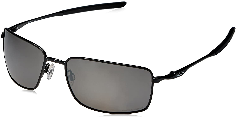 OO4075-13 Prizm poliert schwarz Oakley schwarze Sonnenbrille Quadrat ...