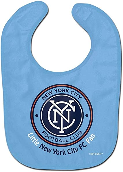 WinCraft Soccer New York City FC WCRA2202415 All Pro Baby Bib