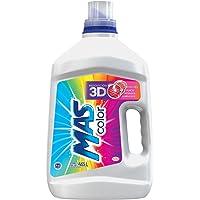 MAS Detergente Líquido para Ropa de Color, 4.65 l