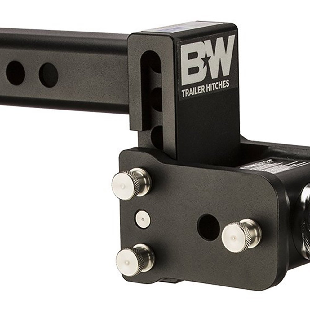 Ball Mount B/&W Trailer Hitches B/&W TS10037B Tow and Stow Magnum Receiver Hitch Double