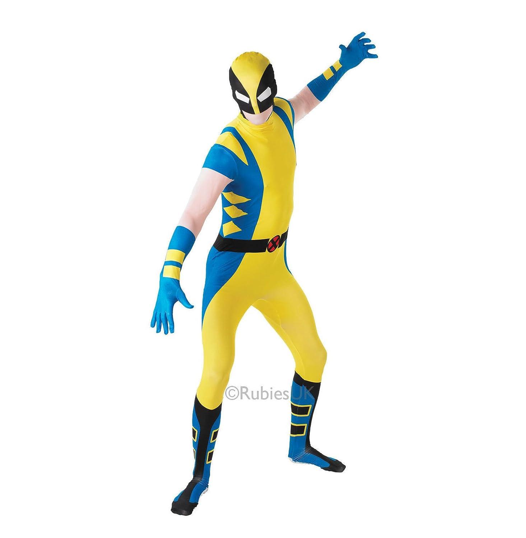 Rubies - Disfraz Oficial de Marvel Wolverine Deluxe, Talla XL: Amazon.es: Juguetes y juegos
