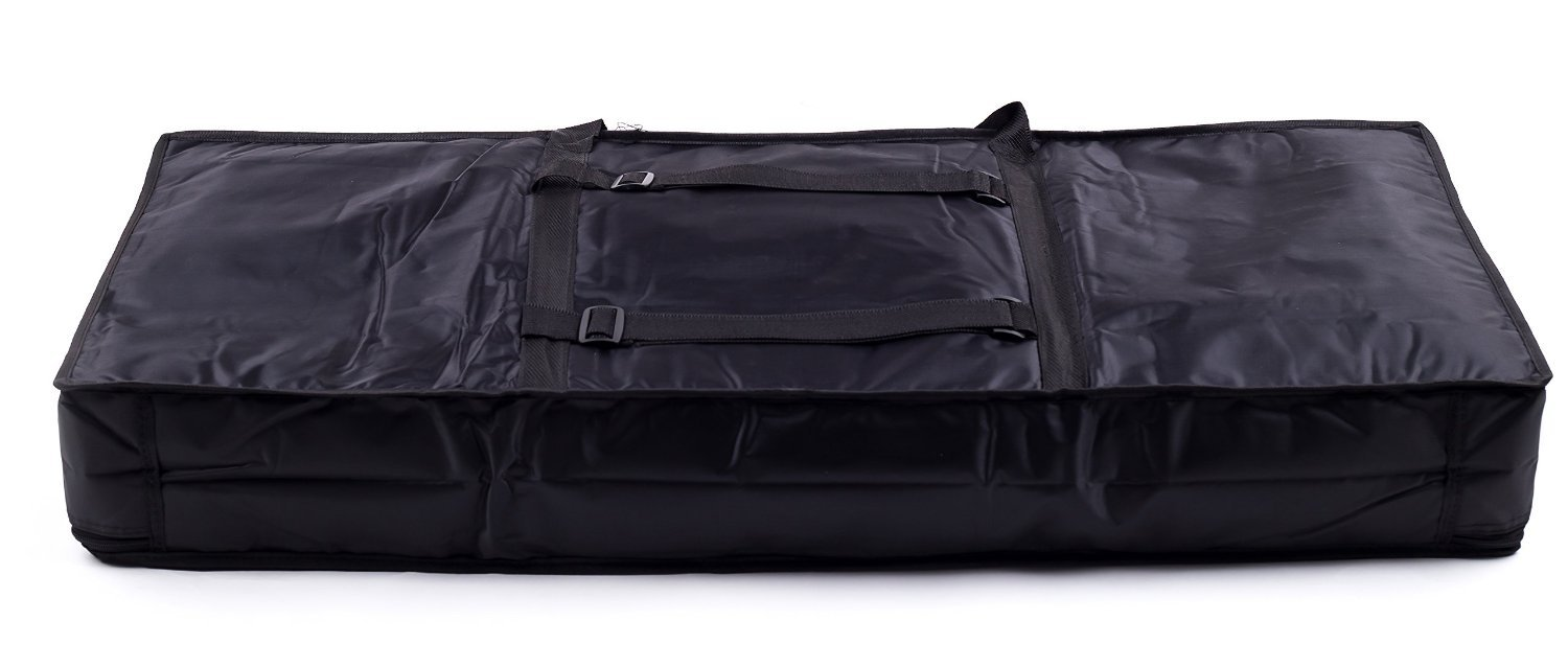 Tosnail 61-note Keyboard Gig Bag Piano Case Padded with 6mm Cotton - 39'' x 16'' x 6'' (61 Note Keyboard) by Tosnail (Image #2)