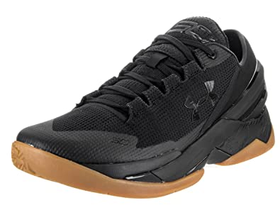 Under Armour Men's Curry 2 Low Blk/Blk/Blk Basketball Shoe 10.5 Men US