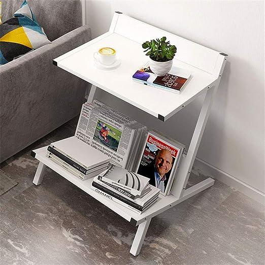 Mesa plegable pequeño refrigerio Tabla de múltiples funciones Cena ...