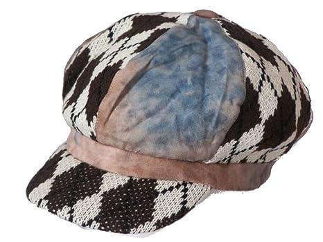 deckicaps Trendy Baker Boy - Gorra Globo karo2 57 - 59 cm: Amazon ...