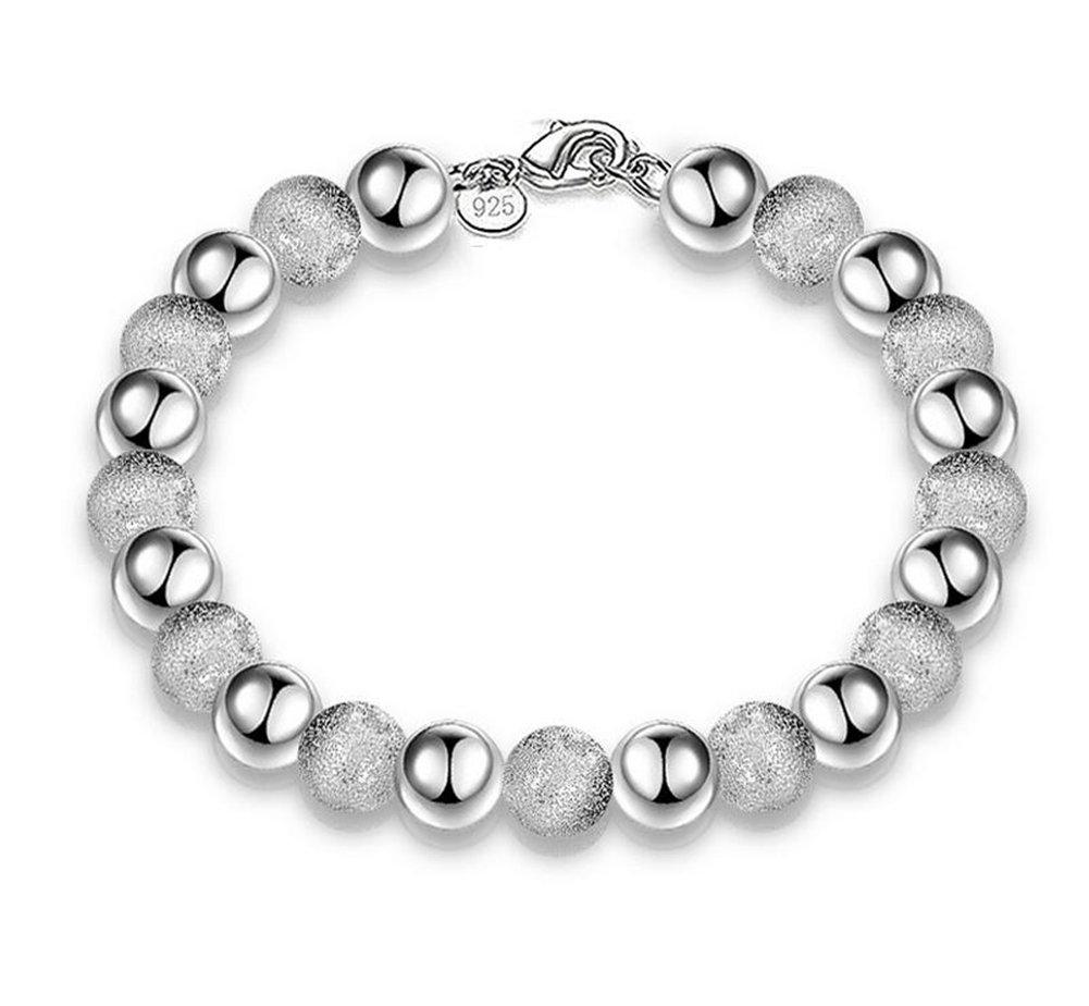 Cdet Bracelet en Entre Le Sable Perle Bracelet Bracelet Poignet en Argent pour Femme chaînette Mode élégante Filles Style Nouveau