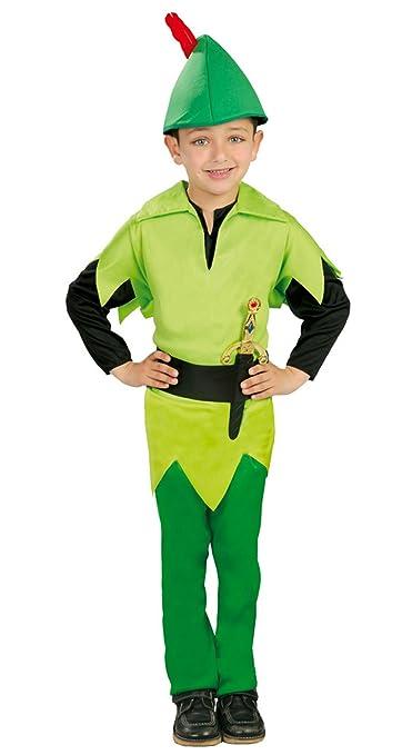 Guirca - Disfraz de arquero Robin, para niños de 5-6 años, color ...