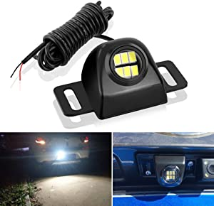 Auxiliary Reverse Light Bulb,Mini Universal Super Bright Backup Parking LED Light Lamp Waterproof, Backup camera Illumination for Truck Vehicle CAR