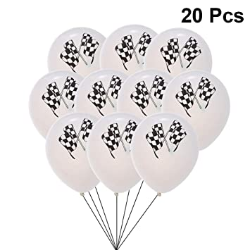 Amazon Com Pretyzoom 20pcs Checkered Racing Flags