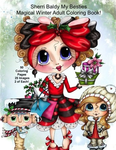 Sherri Baldy My Besties Magical Winter Coloring Book