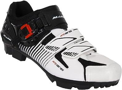 Massi Hydra - Zapatillas de Ciclismo MTB Unisex, Multicolor/Blanco ...