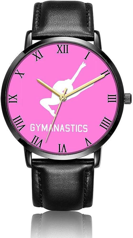 Relojes Anolog Negocio Cuarzo Cuero de PU Amable Relojes de Pulsera Wrist Watches Chevron de Gimnasia