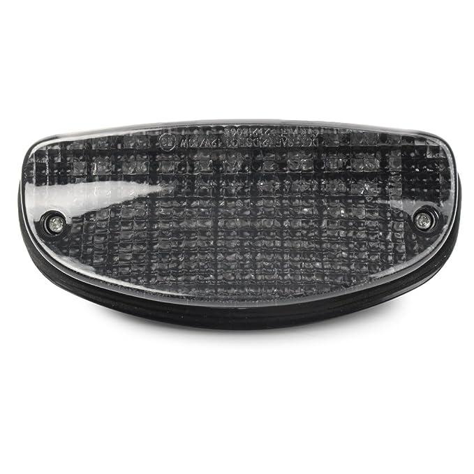 Amazon.com: GZYF Motorcycle Smoke Lens LED Tail Light W ...