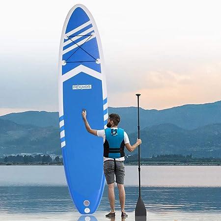 PEXMOR Tabla de surf de remo antideslizante (6 pulgadas de ...