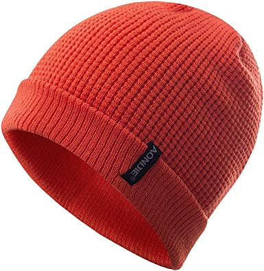 Gorros Unisex Hombres/Mujeres Invierno Cálido Gorros de Punto Al Aire Libre de Felpa Engrosamiento Sombrero de Punto Sombrero de Esquí para el Invierno (Nanranja): Amazon.es: Ropa y accesorios