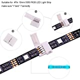 RGB LED Strip Connector Kit - include 5050 4Pin 2