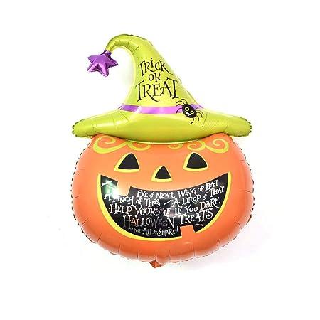 Hemore Globo balón de látex Globos de Halloween Navidad decoración ...