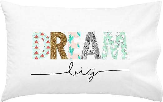 Amazon.com: Oh, Susannah Dream Big Kids Pillowcase - Fun Pillow