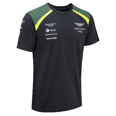 Aston Martin Racing Team Mens TShirt XXXL Blue Amazoncom - Aston martin shirt